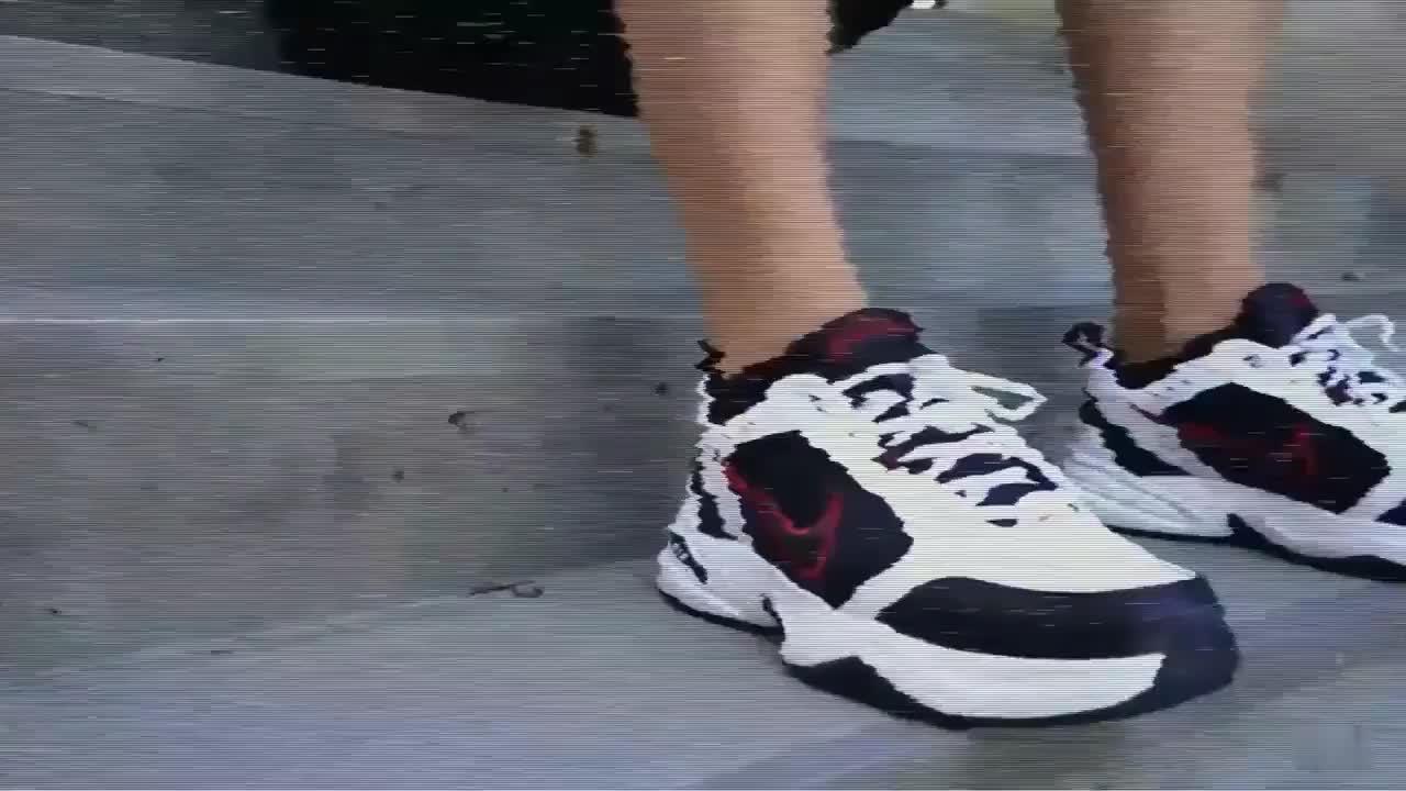 Nike耐克M2K Air Monarch气垫缓震复古男鞋老爹鞋运动休闲跑步鞋