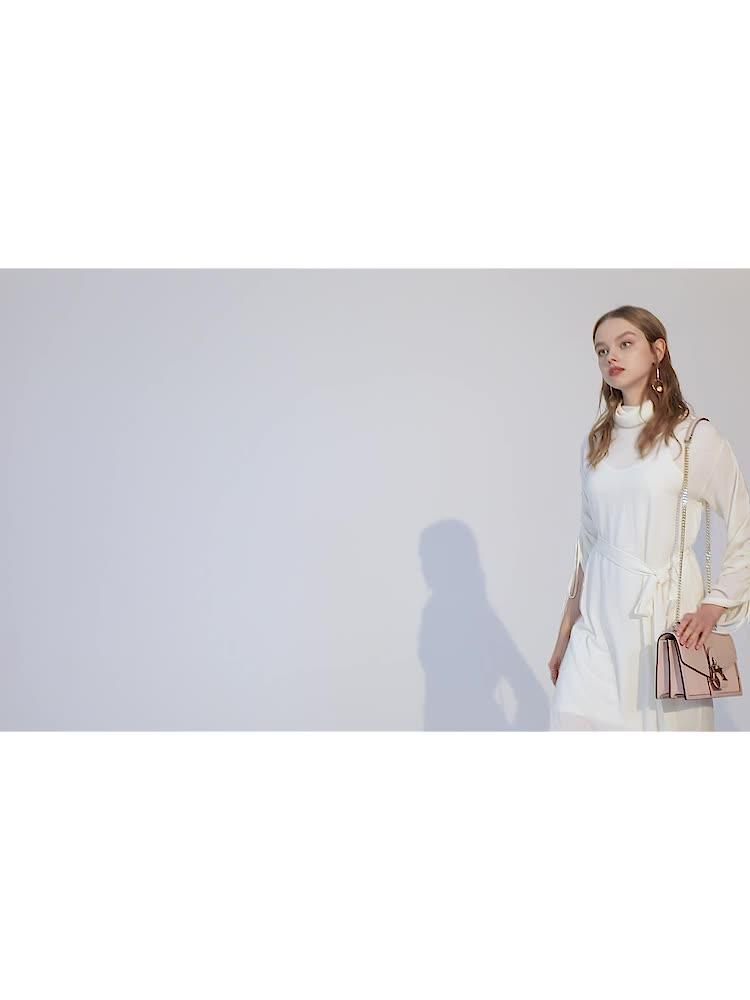 VH包包女包新款2019轻奢时尚单肩包真皮链条小方包气质简约斜挎包