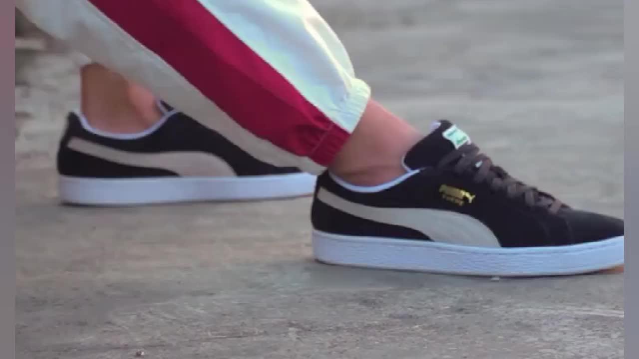 李现同款系列】PUMA彪马 Suede Jr 复古运动女鞋潮流户外板鞋休闲