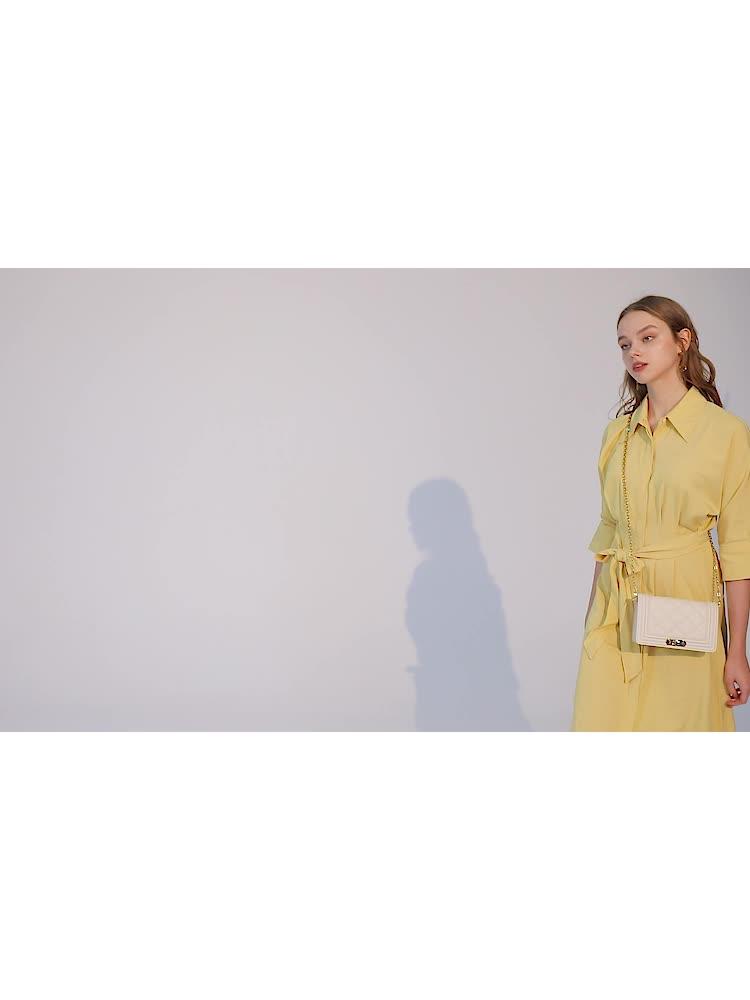 VH包包女包新款2020牛皮方包时尚潮单肩包菱格链条包小香风斜挎包